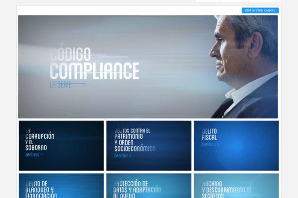Código Compliance, la serie: experiencia digital en formato serie televisiva & plataforma de contenidos para lograr el cambio cultural necesario en la empresa sobre Compliance