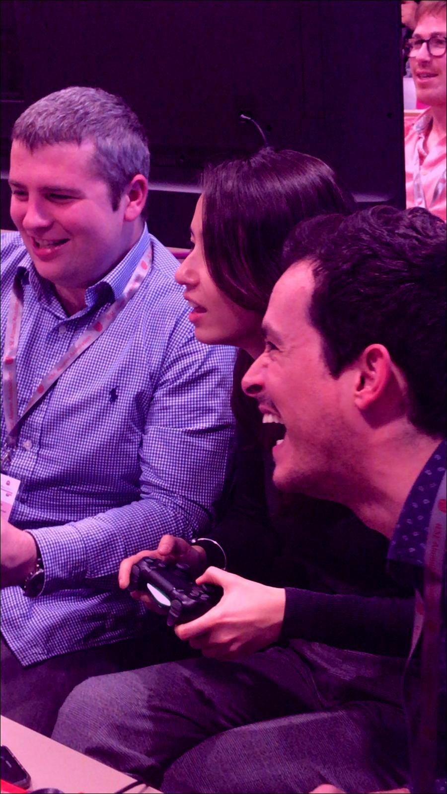 Skill you UP, Business Jam de observación de competencias mediante el uso de un videojuego de la PS4