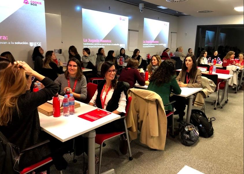 Una jugada maestra en IESE Business School, con perspectiva femenina